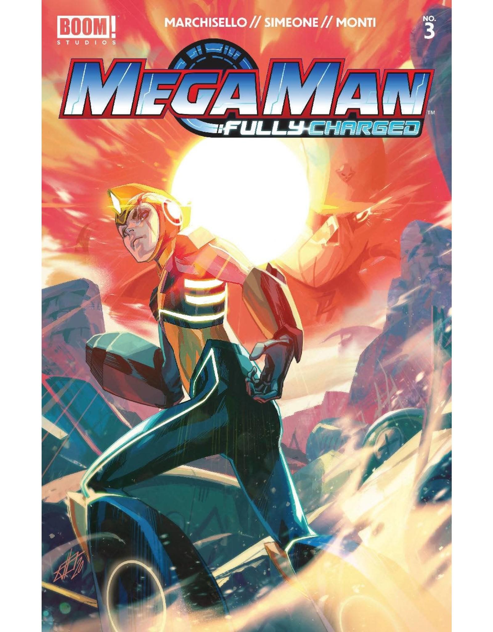 Boom! Studios MEGA MAN FULLY CHARGED #3 CVR A MAIN