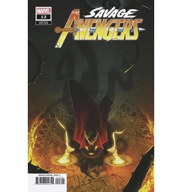 Marvel Comics SAVAGE AVENGERS #13 BOSS LOGIC VAR