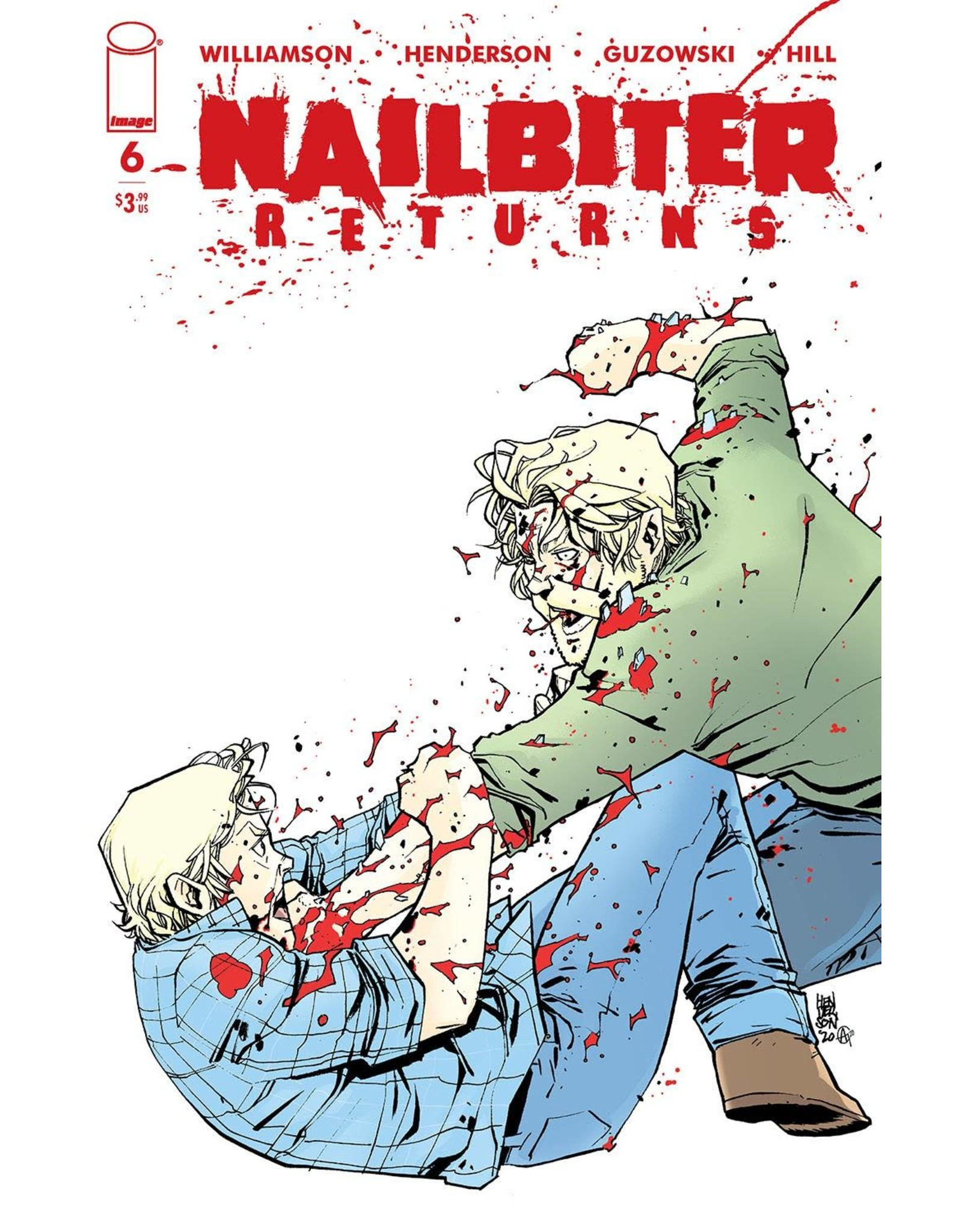 Image Comics NAILBITER RETURNS #6 (MR)