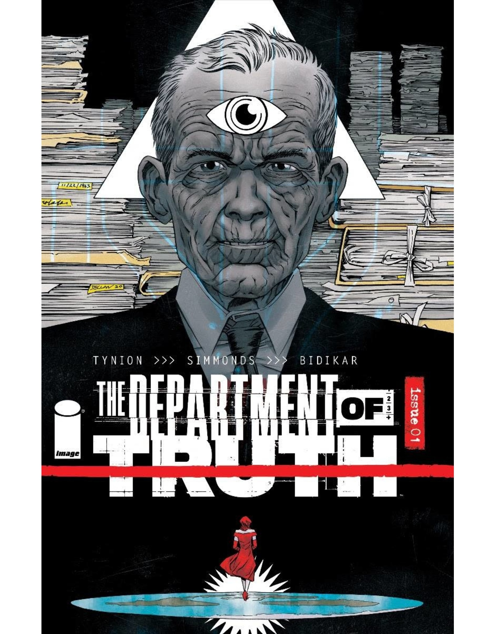 Image Comics DEPARTMENT OF TRUTH #1 10 COPY INCV SHALVEY (MR)