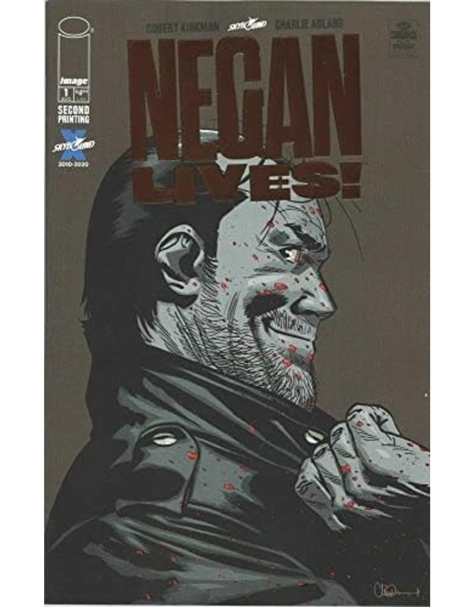 Image Comics NEGAN LIVES #1 Bronze Foil Print