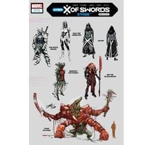 X OF SWORDS STASIS #1 1:10 LARRAZ DESIGN VAR