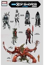 Marvel Comics X OF SWORDS STASIS #1 1:10 LARRAZ DESIGN VAR