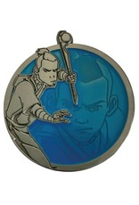 "General AVATAR THE LAST AIRBENDER SOKKA PORTRAIT SERIES PIN 2"" diameter"
