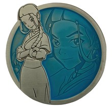 "AVATAR THE LAST AIRBENDER KATARA PORTRAIT SERIES PIN 2"" diameter"