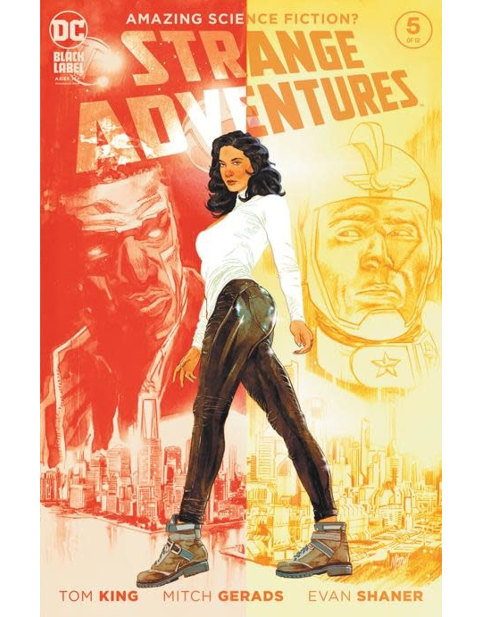 DC Comics STRANGE ADVENTURES #5 (OF 12) CVR A MITCH GERADS (MR)