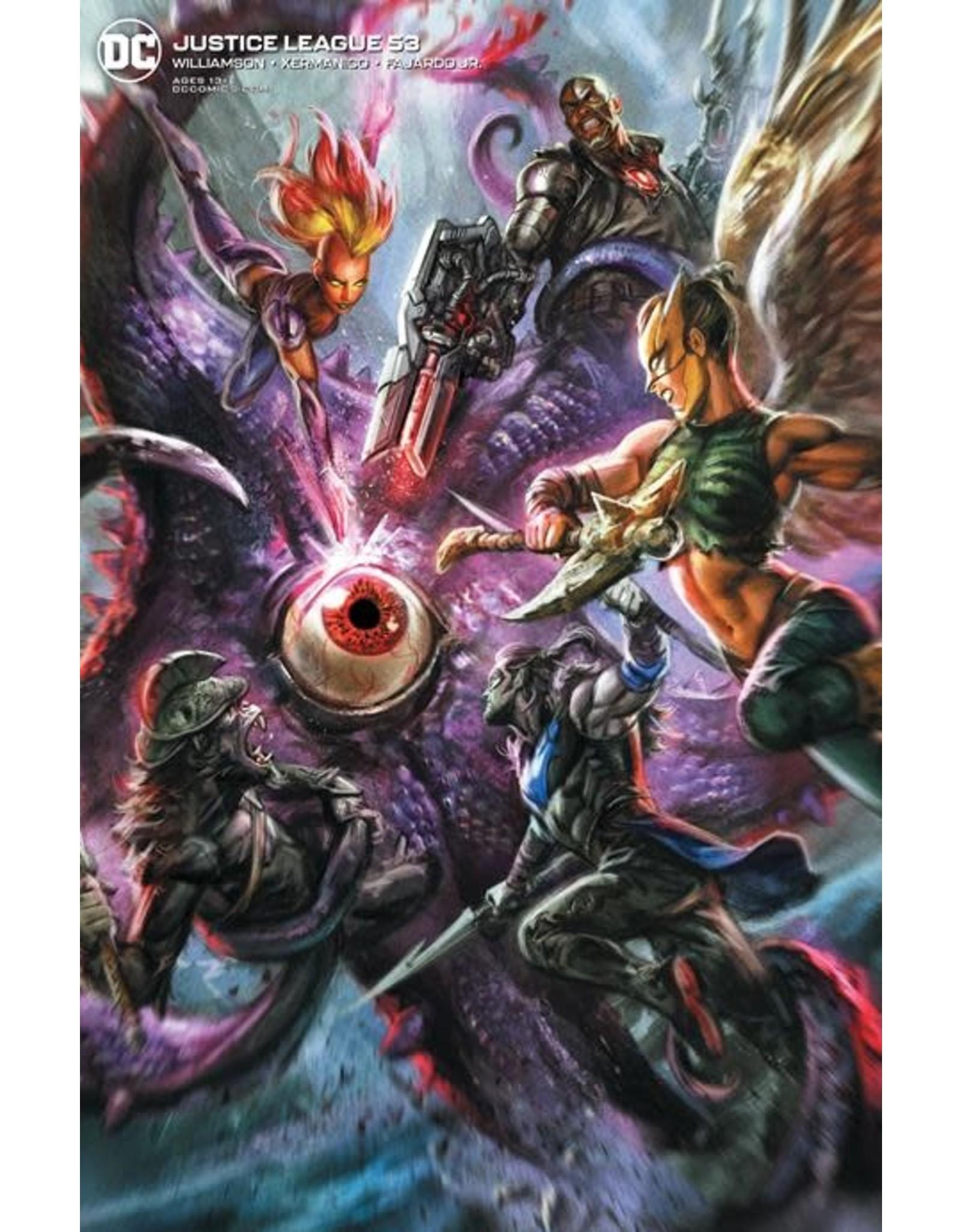 DC Comics JUSTICE LEAGUE #53 CVR B IAN MACDONALD VAR
