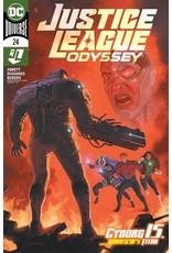 DC Comics JUSTICE LEAGUE ODYSSEY #24 CVR A JOSE LADRONN