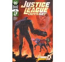 JUSTICE LEAGUE ODYSSEY #24 CVR A JOSE LADRONN