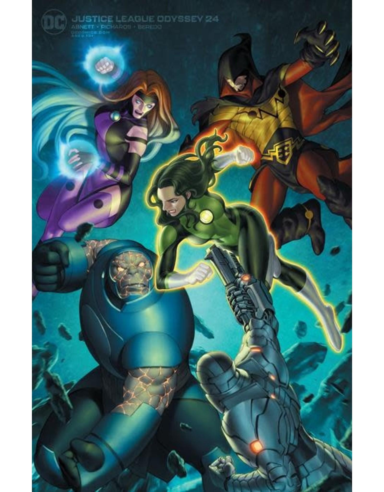 DC Comics JUSTICE LEAGUE ODYSSEY #24 CVR B JUNGGEUN YOON VAR