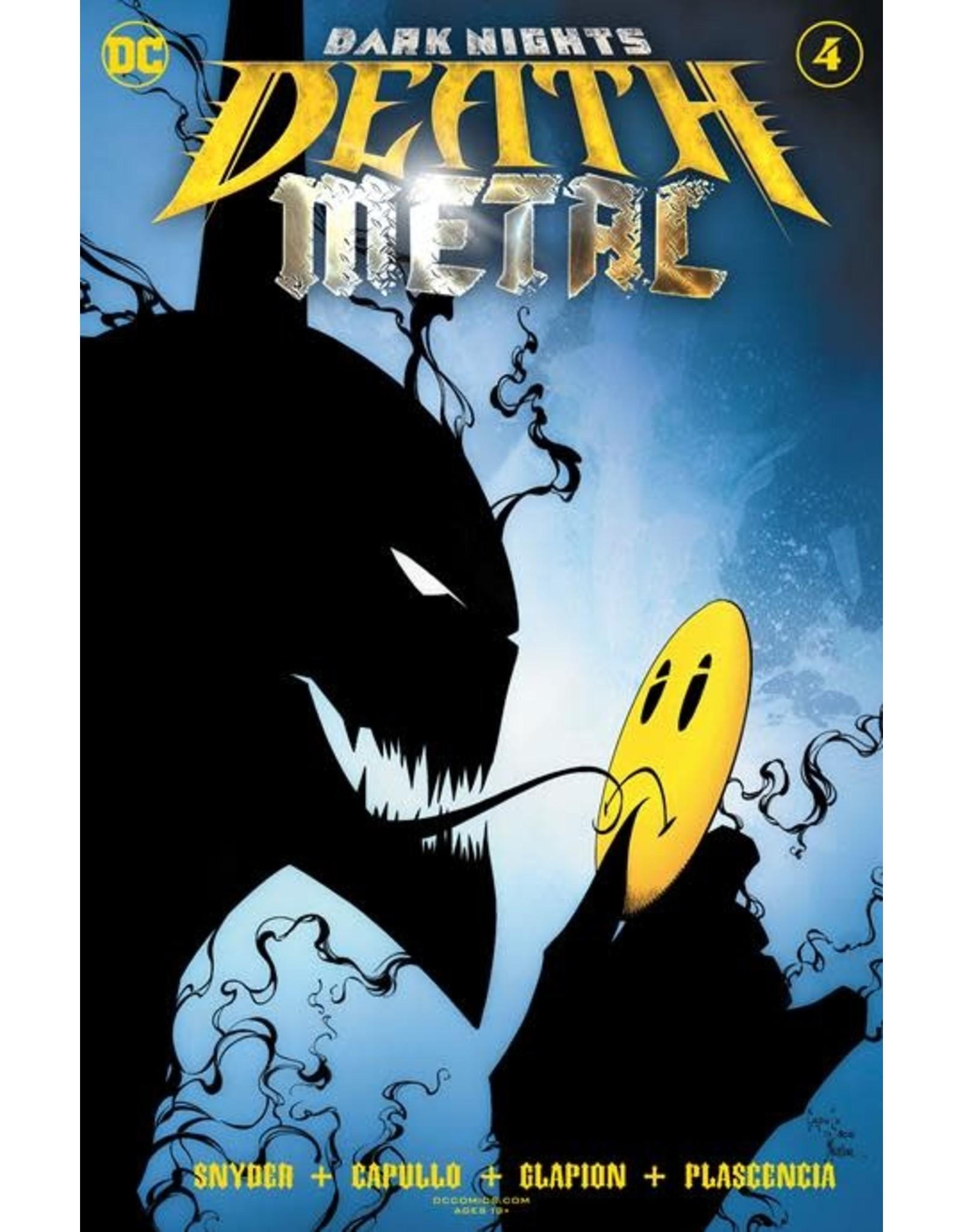 DC Comics DARK NIGHTS DEATH METAL #4 (OF 7) CVR A GREG CAPULLO & JONATHAN GLAPION FOIL EMBOSSED