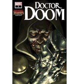 Marvel DOCTOR DOOM #7 MERCADO MARVEL ZOMBIES VAR