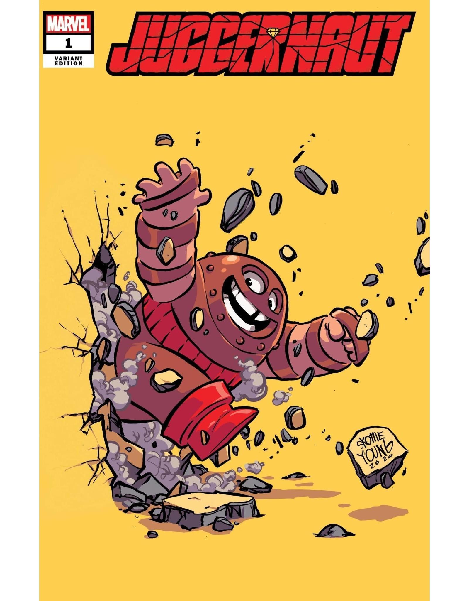 Marvel Comics JUGGERNAUT #1 (OF 5) YOUNG VAR DX