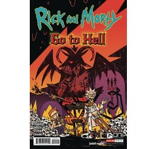 RICK AND MORTY GO TO HELL #4 CVR B ENGER