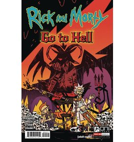 Oni Press RICK AND MORTY GO TO HELL #4 CVR B ENGER