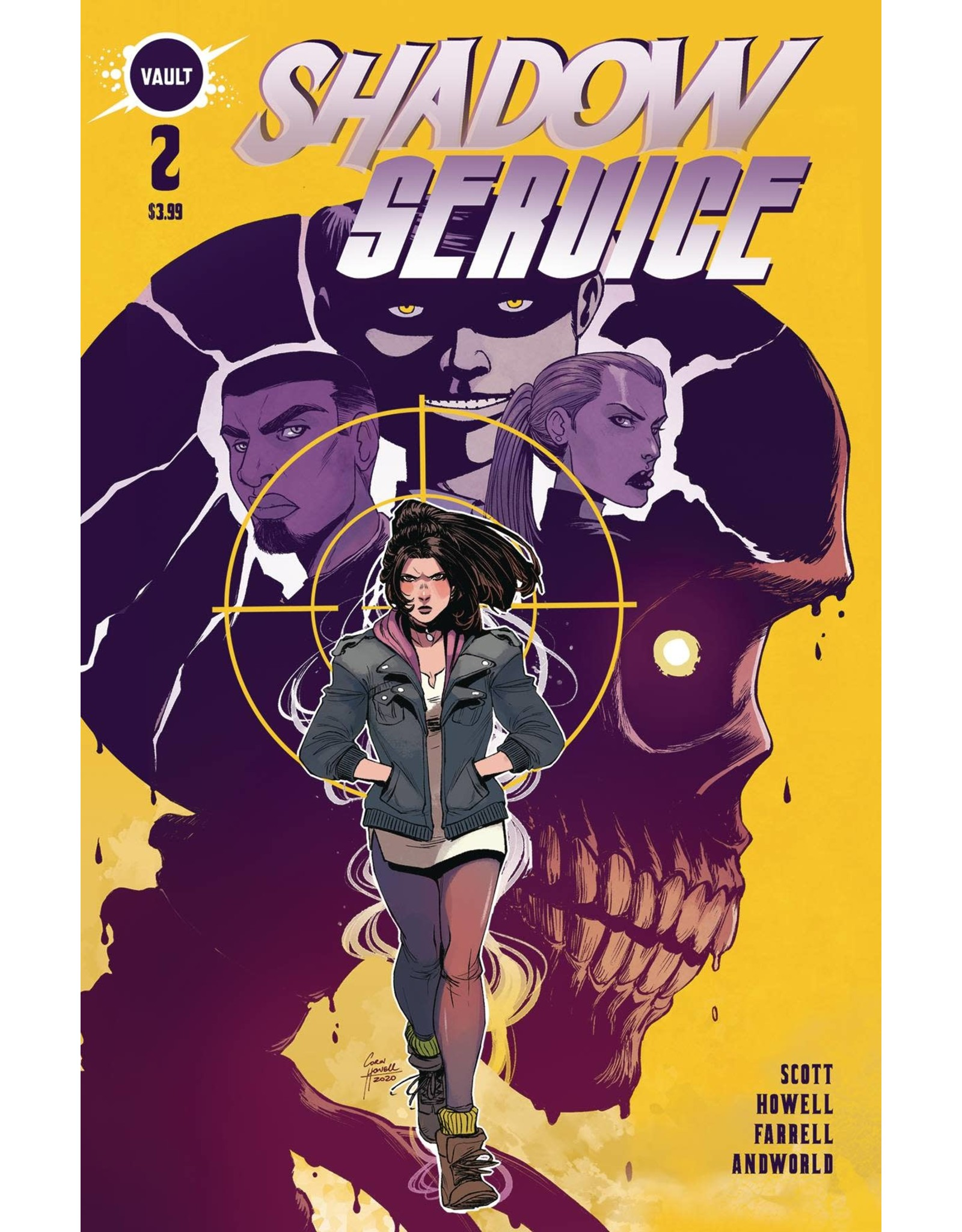 VAULT COMICS SHADOW SERVICE #2