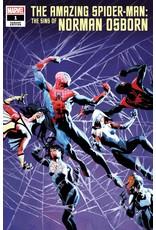 Marvel Comics AMAZING SPIDER-MAN SINS OF NORMAN OSBORN #1 CASANOVAS VAR
