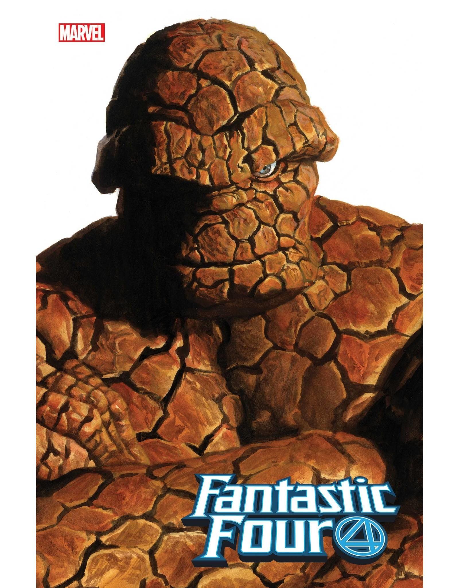 Marvel Comics FANTASTIC FOUR #24 ALEX ROSS THING TIMELESS VAR