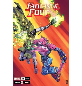Marvel FANTASTIC FOUR #24 CAMUNCOLI FORTNITE VAR