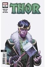 Marvel Comics THOR #4 4TH PTG VAR