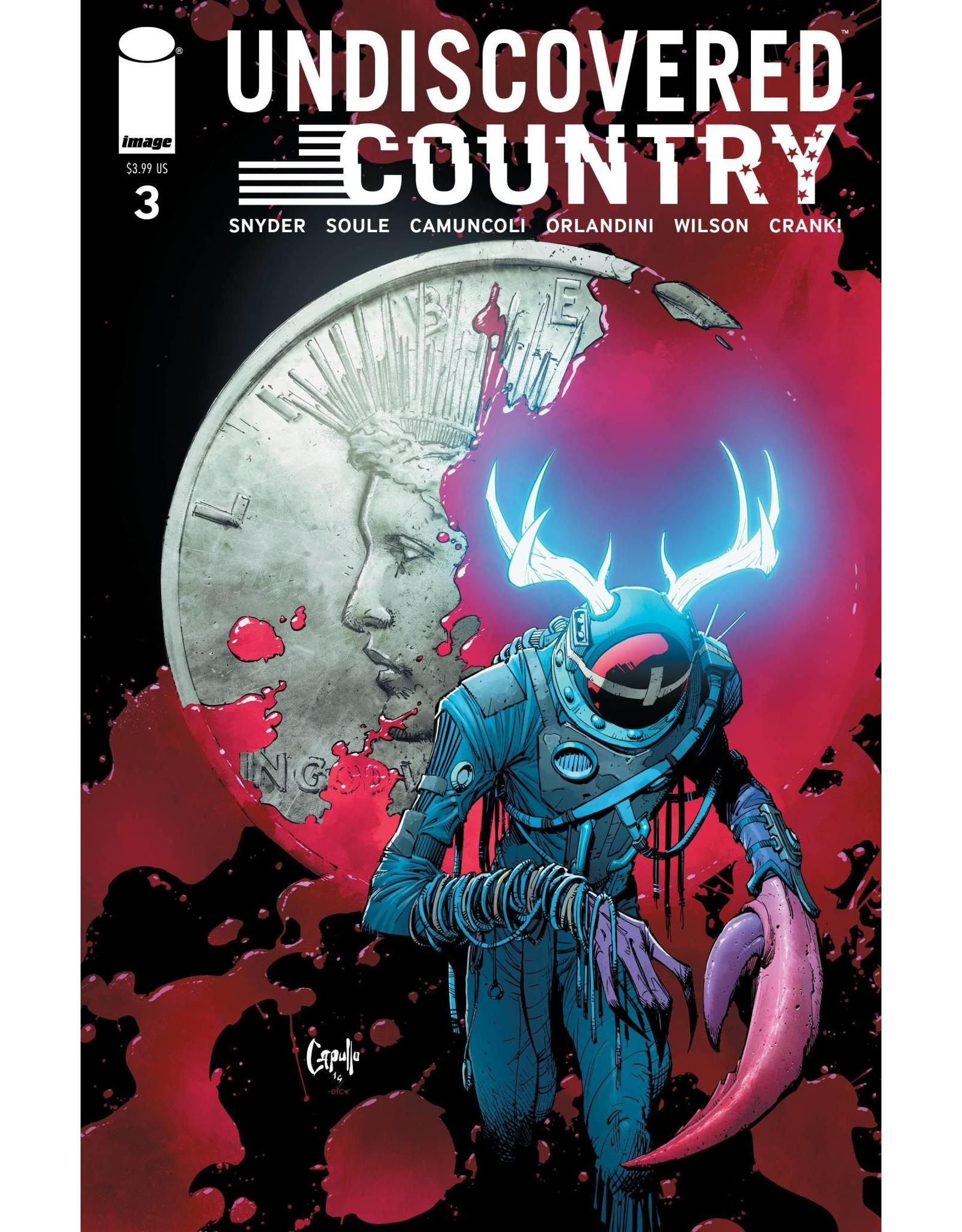 Image Comics UNDISCOVERED COUNTRY #3 CVR B CAPULLO (MR)