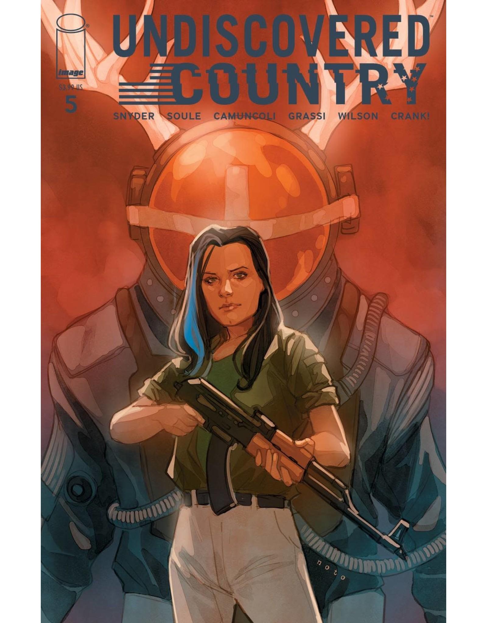 Image Comics UNDISCOVERED COUNTRY #5 CVR B NOTO (MR)