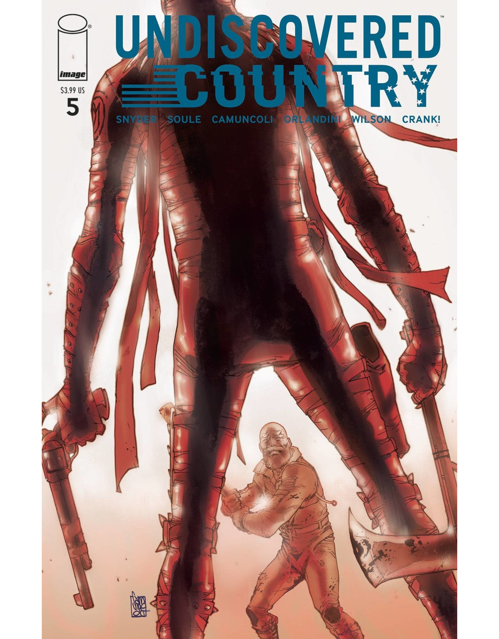 Image Comics UNDISCOVERED COUNTRY #5 CVR A CAMUNCOLI (MR)