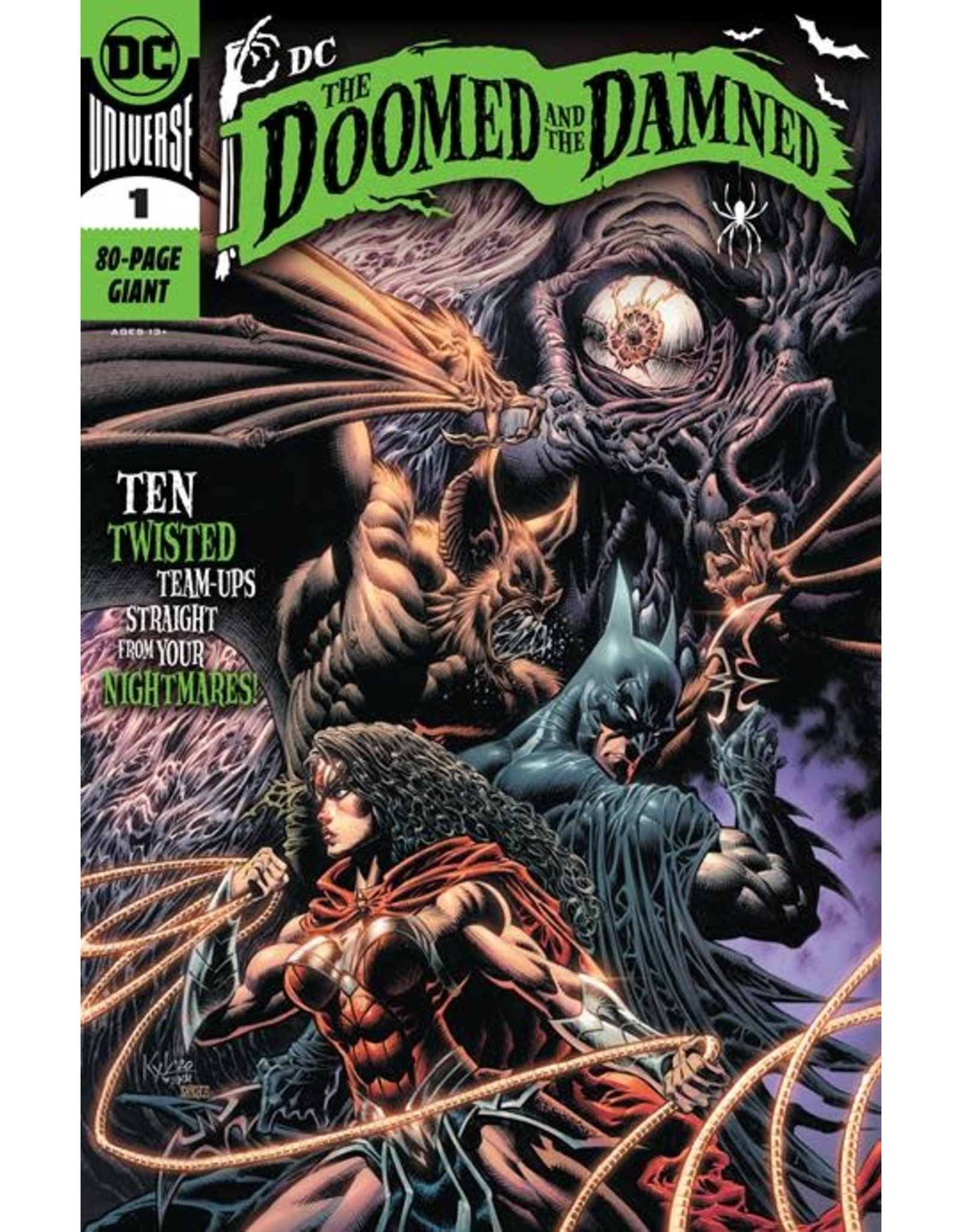 DC Comics DC THE DOOMED AND THE DAMNED #1 (ONE SHOT)