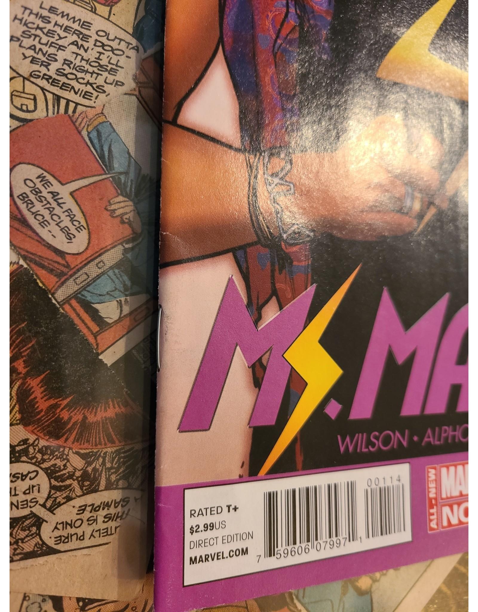 Marvel Comics MS MARVEL #1 4TH PTG PICHELLI VAR ANMN