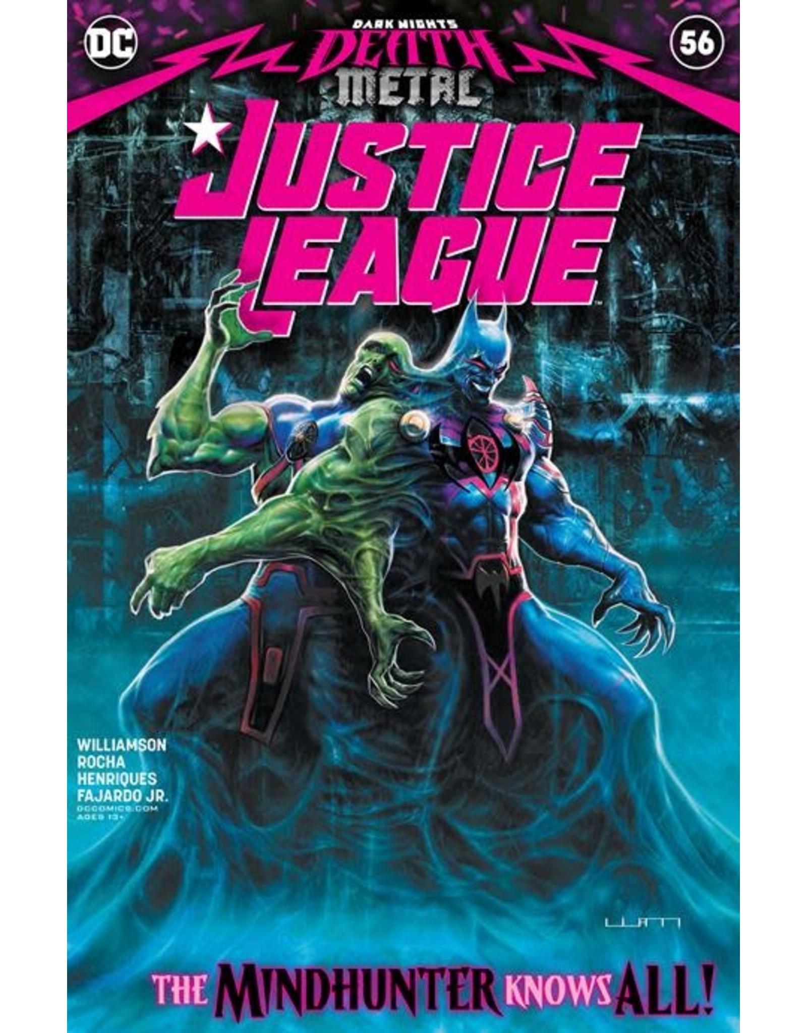 DC Comics JUSTICE LEAGUE #56 CVR A LIAM SHARP (DARK NIGHTS DEATH METAL)