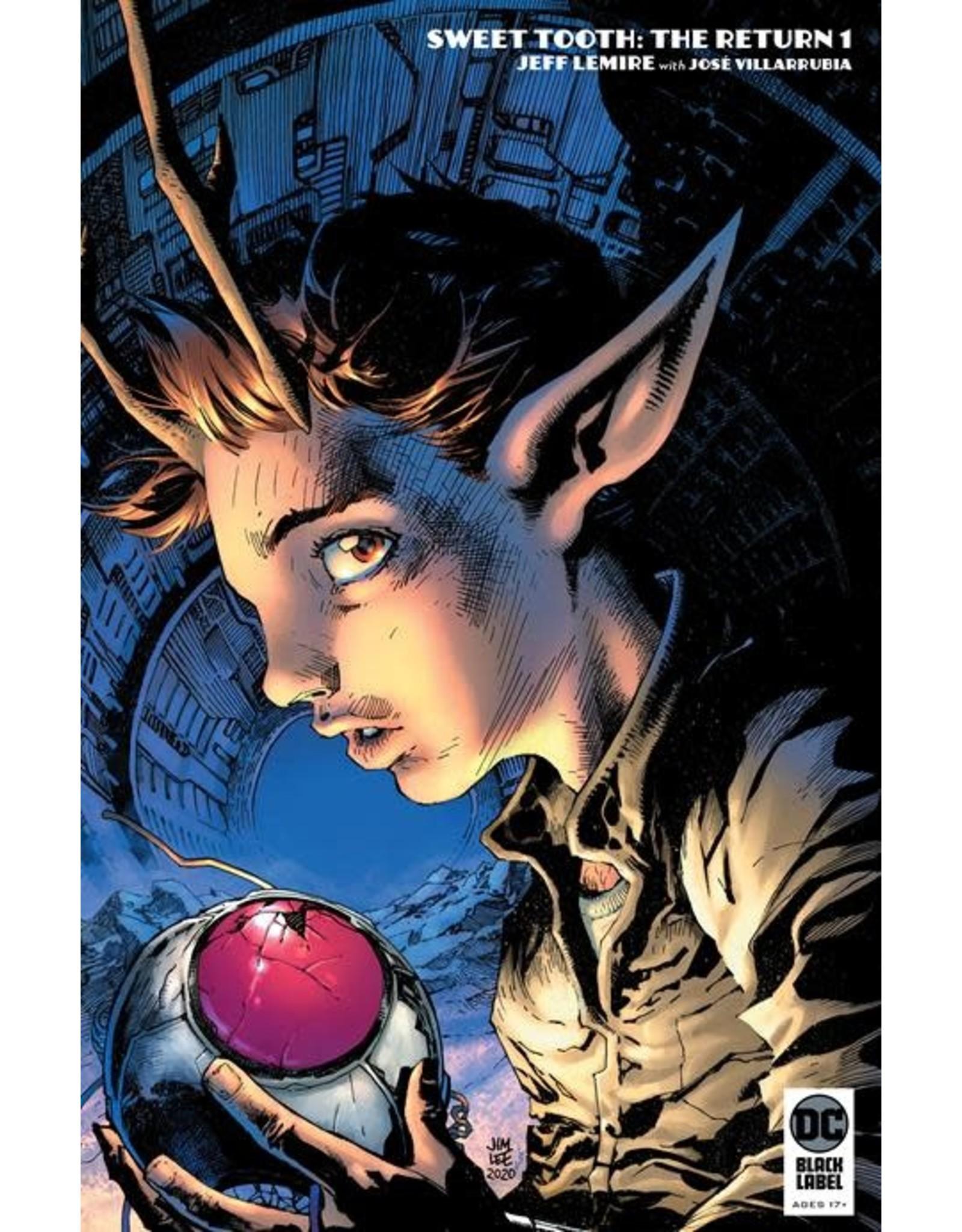 DC Comics SWEET TOOTH THE RETURN #1 (OF 6) CVR B JIM LEE CARD STOCK VAR (MR)