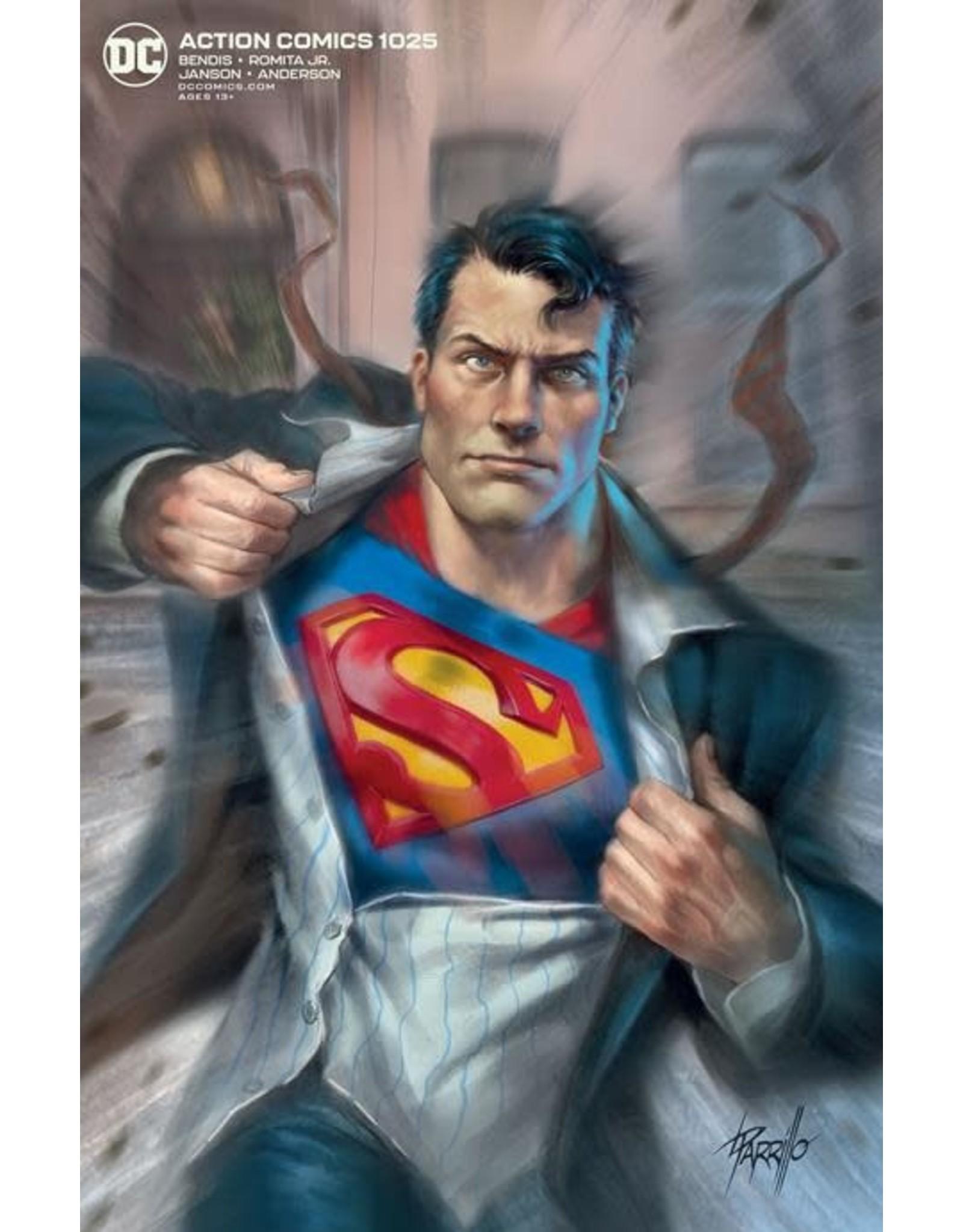 DC Comics ACTION COMICS #1025 CVR B LUCIO PARRILLO VAR
