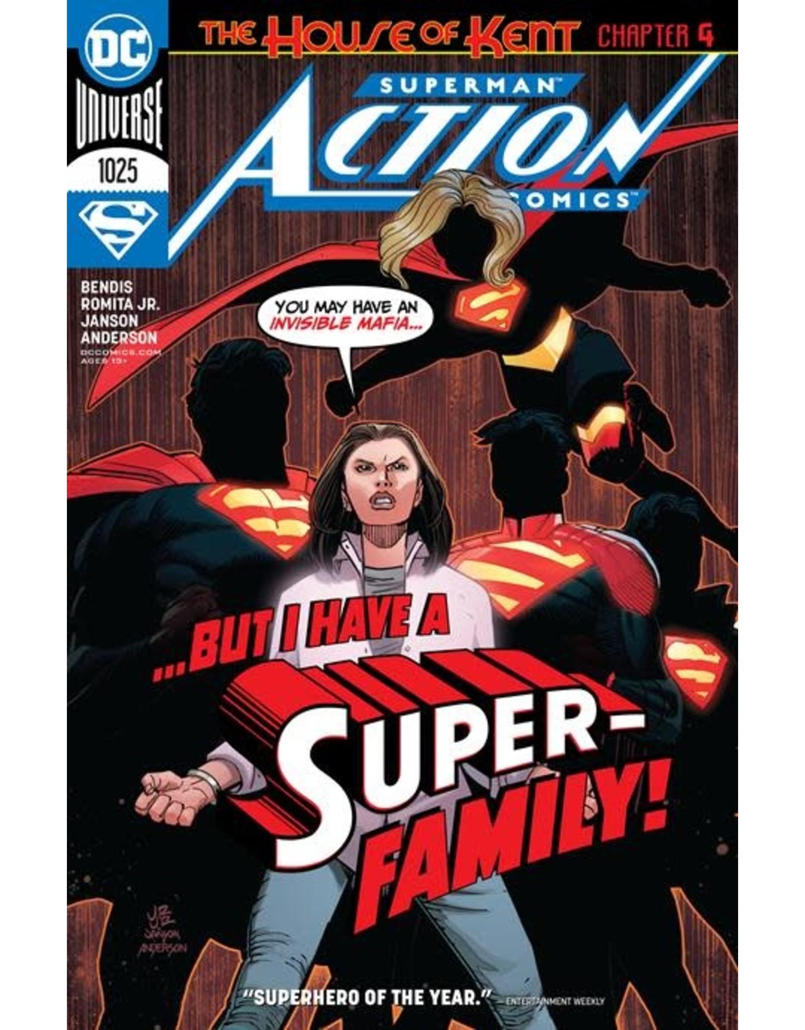 DC Comics ACTION COMICS #1025 CVR A JOHN ROMITA JR
