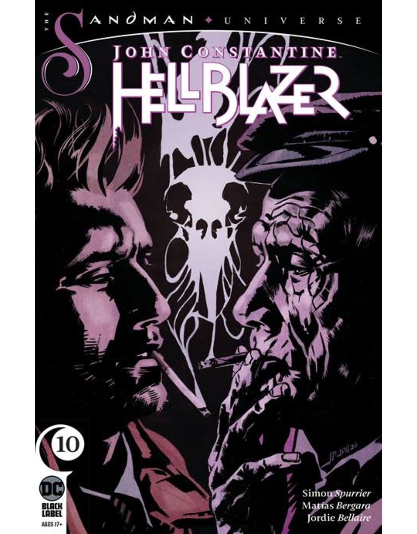 DC Comics JOHN CONSTANTINE HELLBLAZER #10 (MR)