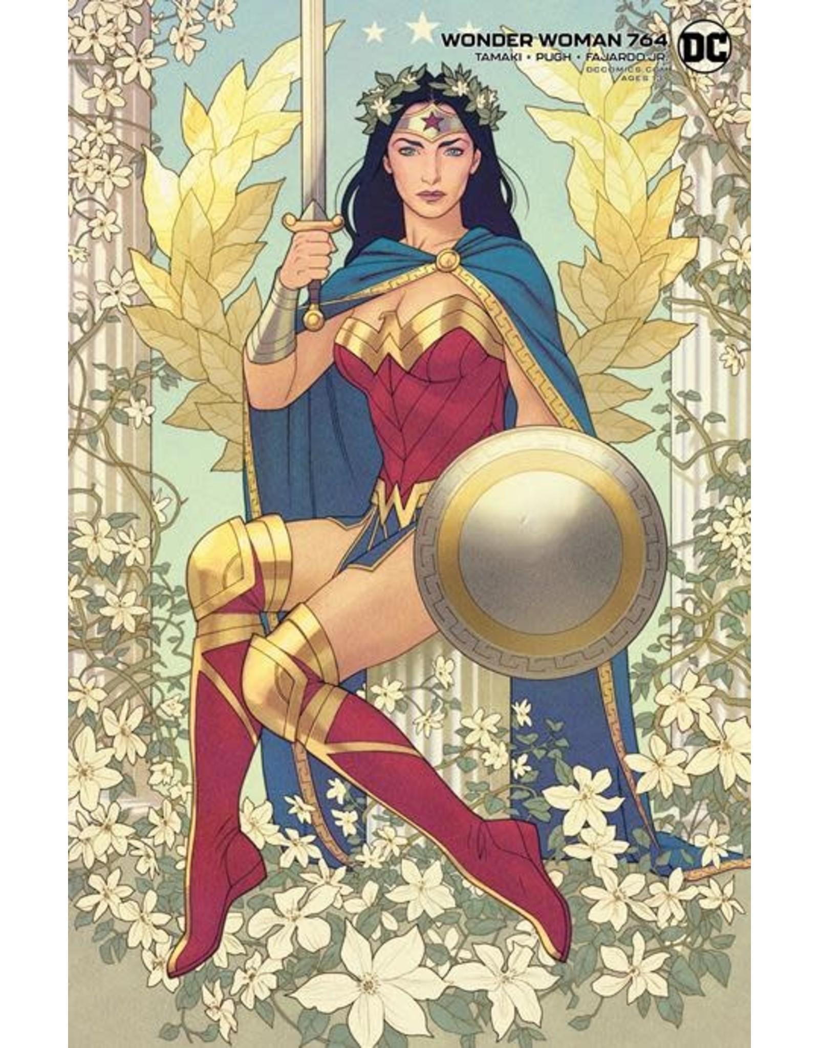 DC Comics WONDER WOMAN #764 CVR B JOSHUA MIDDLETON CARD STOCK VAR