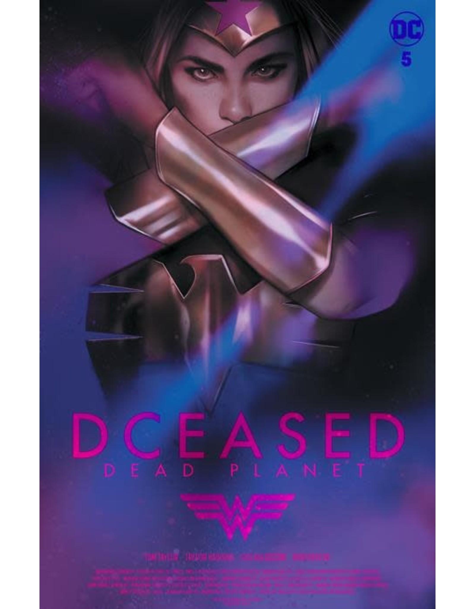 DC Comics DCEASED DEAD PLANET #5 (OF 7) CVR C BEN OLIVER MOVIE HOMAGE CARD STOCK VAR