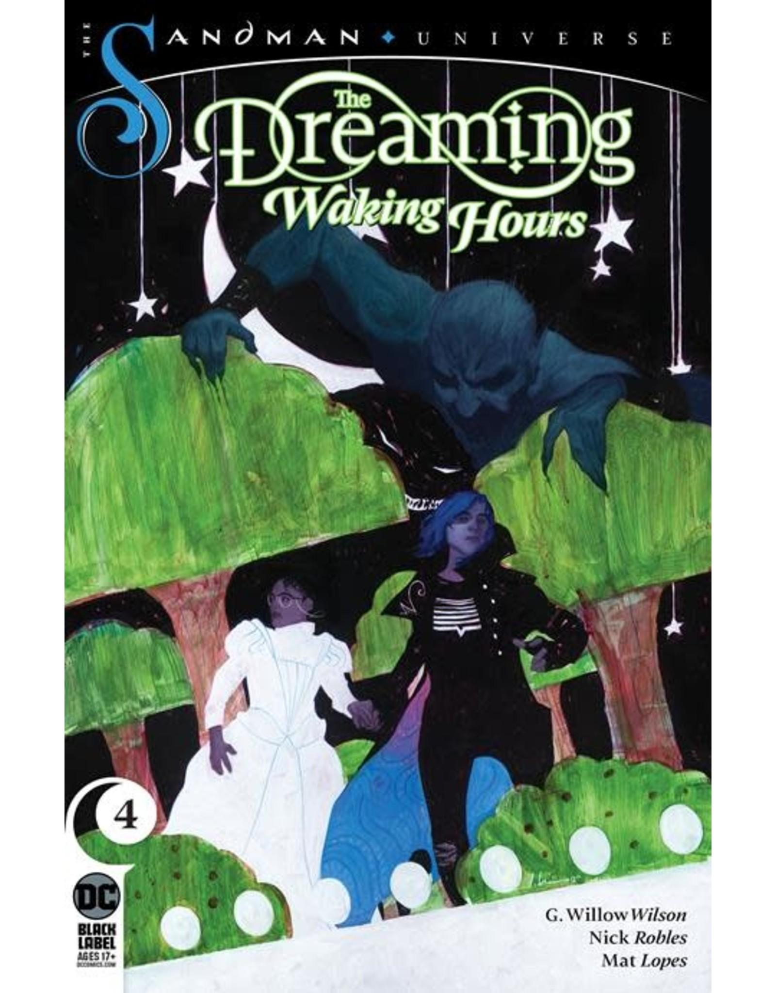 DC Comics DREAMING WAKING HOURS #4 (MR)