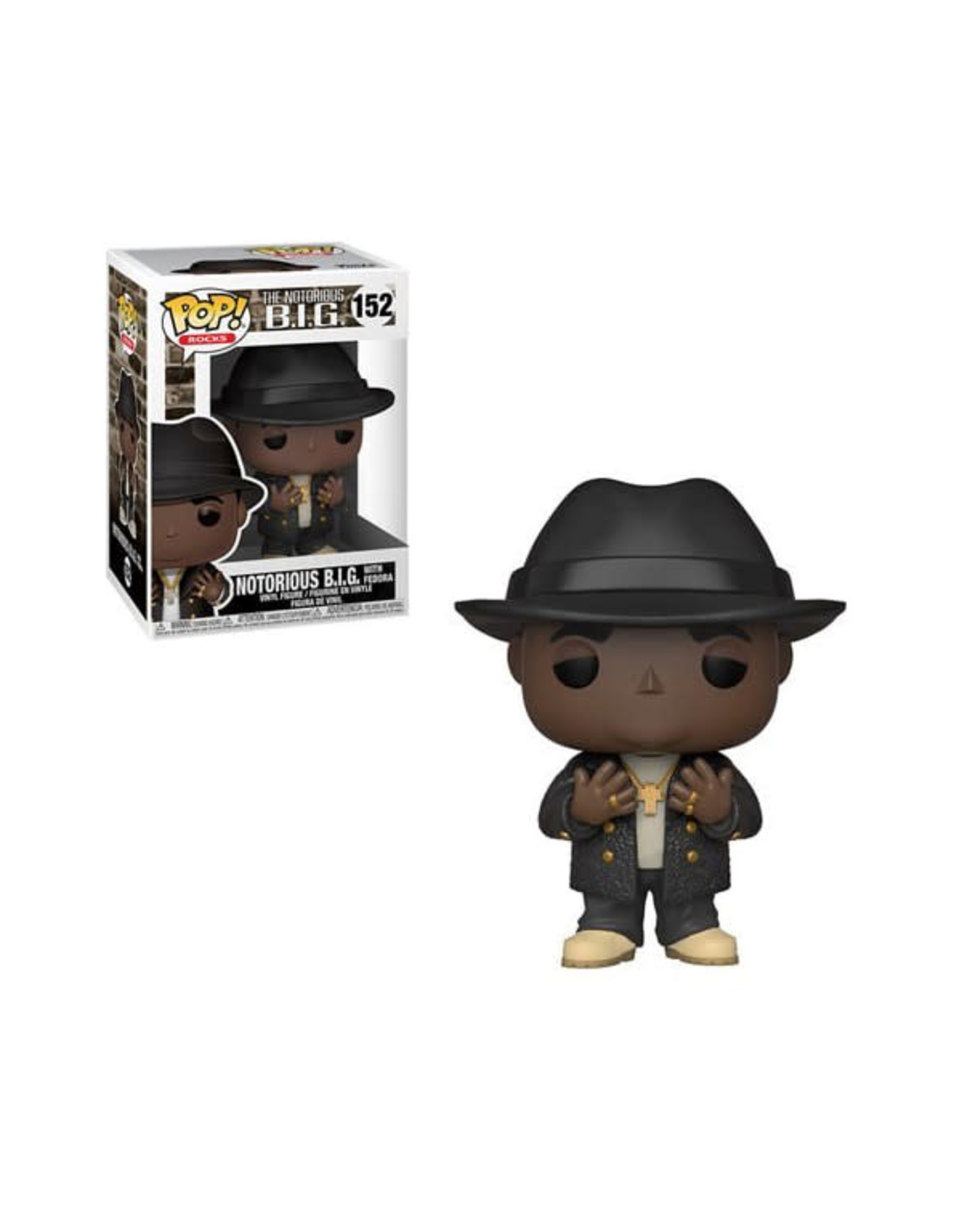 Funko POP NOTORIOUS B.I.G. WITH FEDORA