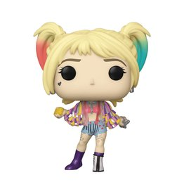 Funko POP BIRDS OF PREY HARELY QUINN (CAUTION TAPE)
