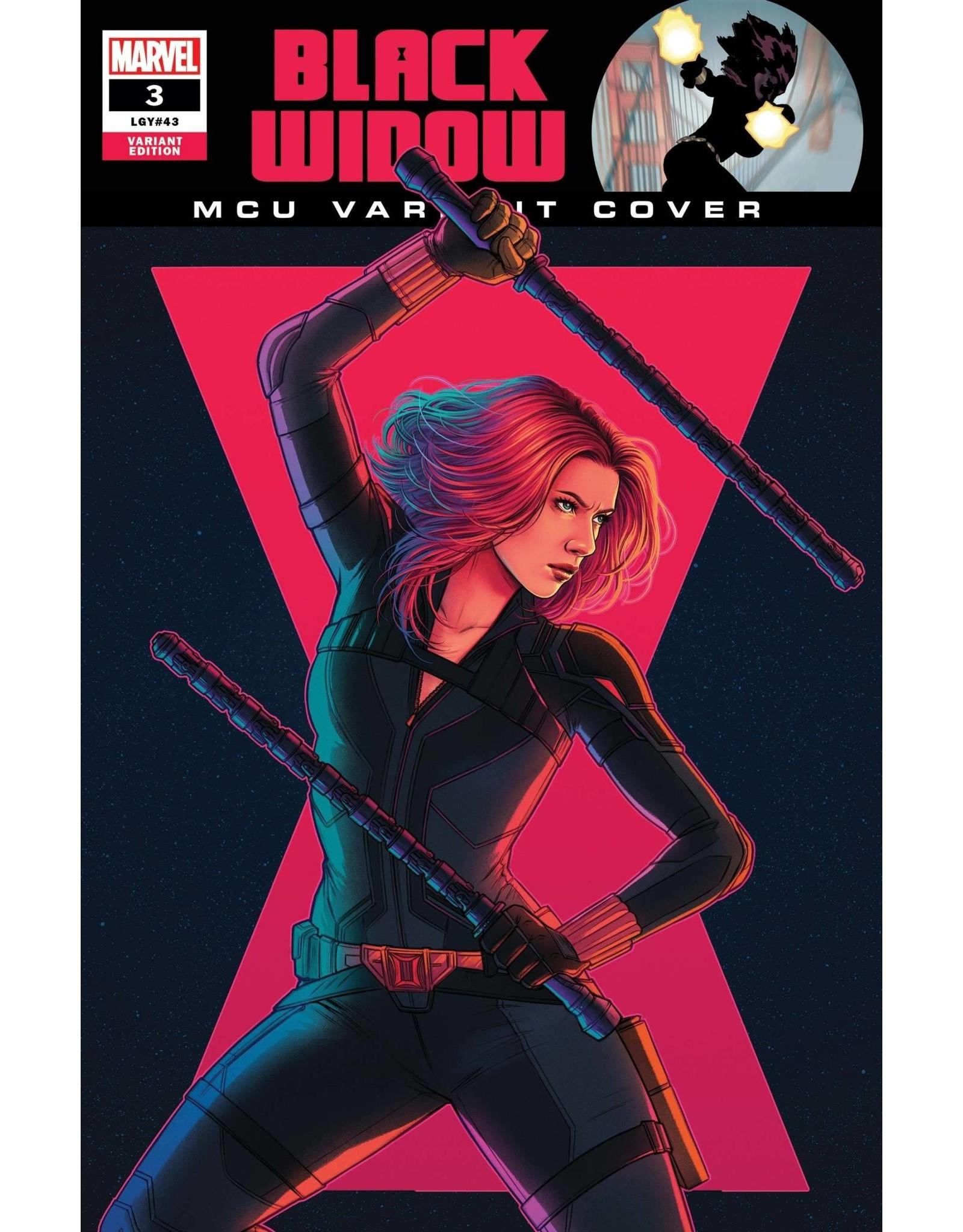 Marvel Comics BLACK WIDOW #3 BARTEL MCU VAR