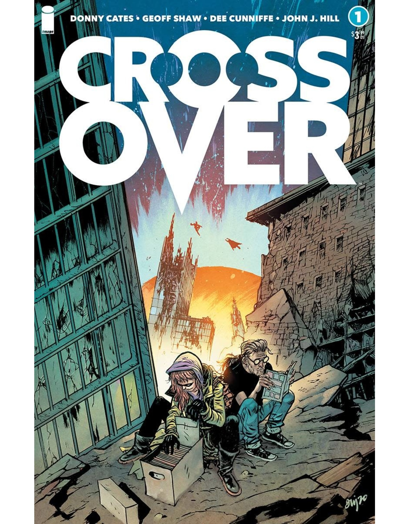 Image Comics CROSSOVER #1 CVR E 10 COPY INCV JOHNSON