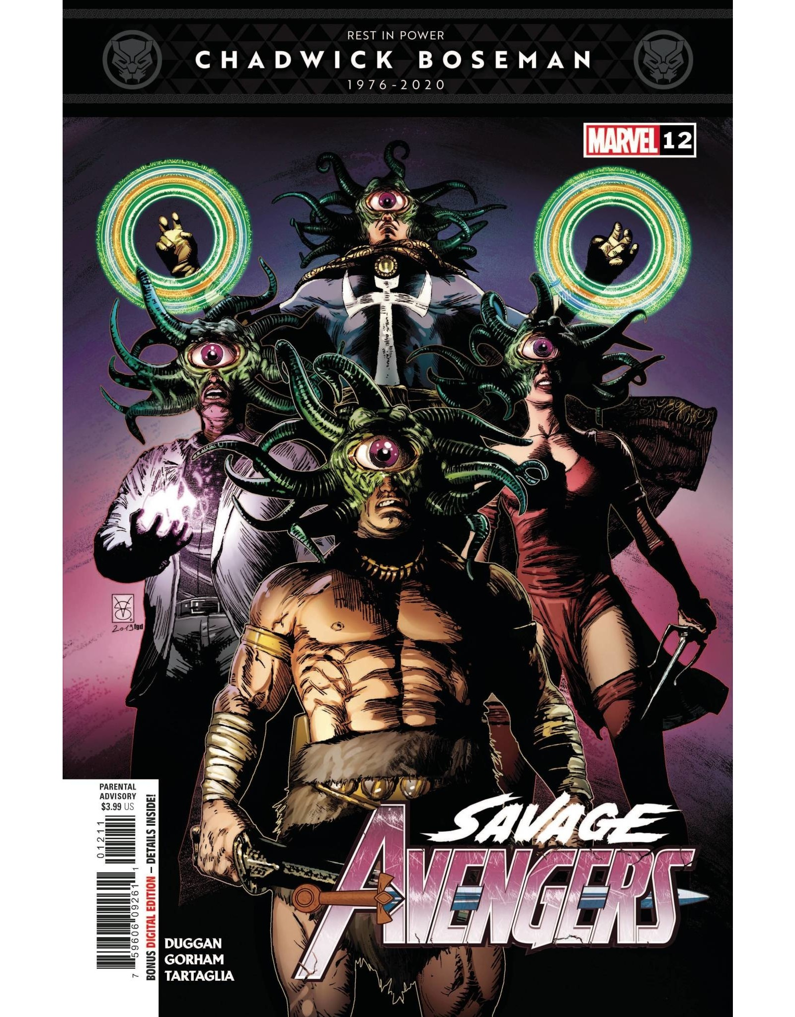 Marvel Comics SAVAGE AVENGERS #12
