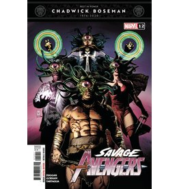 Marvel Comics SAVAGE AVENGERS #12