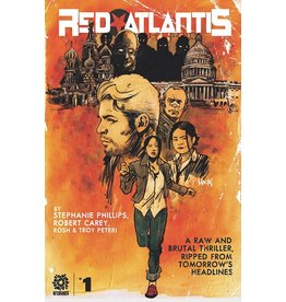 AFTERSHOCK COMICS RED ATLANTIS #1 CVR A HACK (RES)