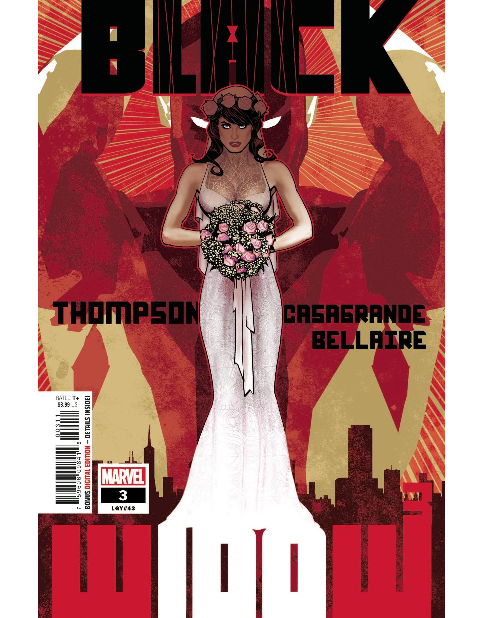 Marvel Comics BLACK WIDOW #3
