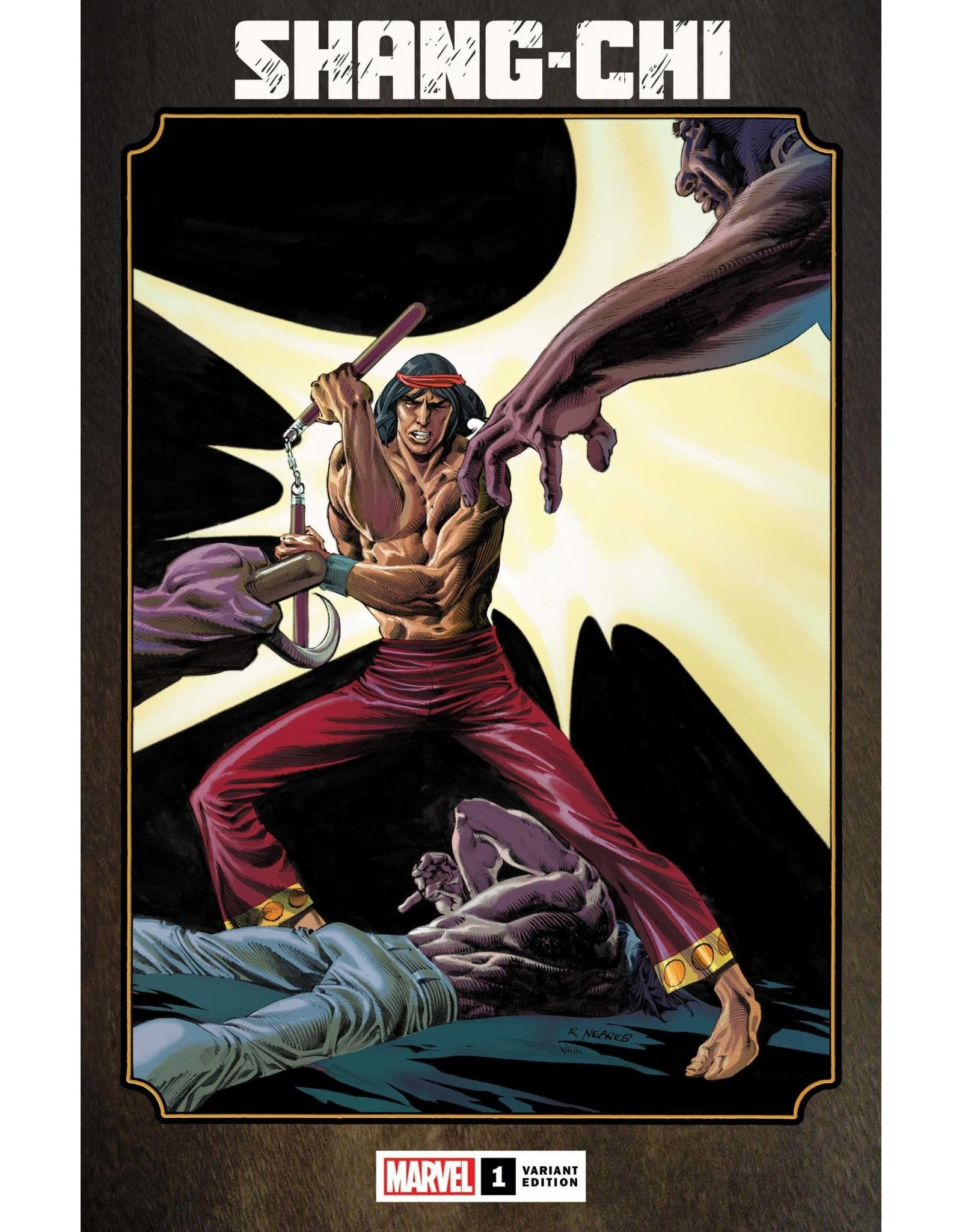 Marvel Comics SHANG-CHI #1 (OF 5) HIDDEN GEM VAR