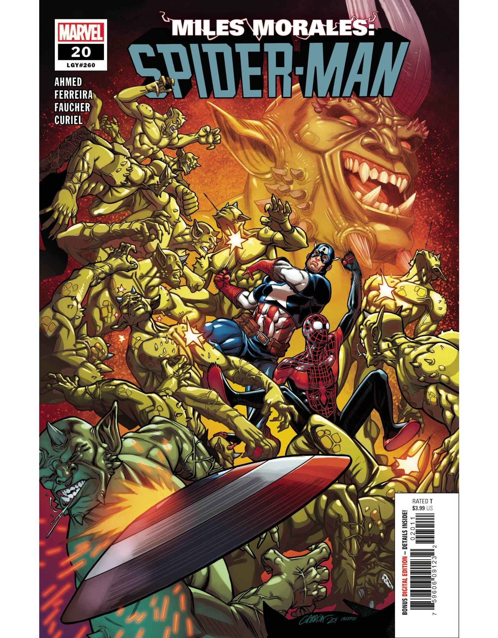 Marvel Comics MILES MORALES SPIDER-MAN #20