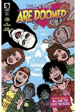 IDW PUBLISHING BILL & TED ARE DOOMED #1 (OF 4) CVR A DORKIN