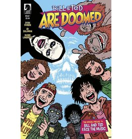IDW BILL & TED ARE DOOMED #1 (OF 4) CVR A DORKIN