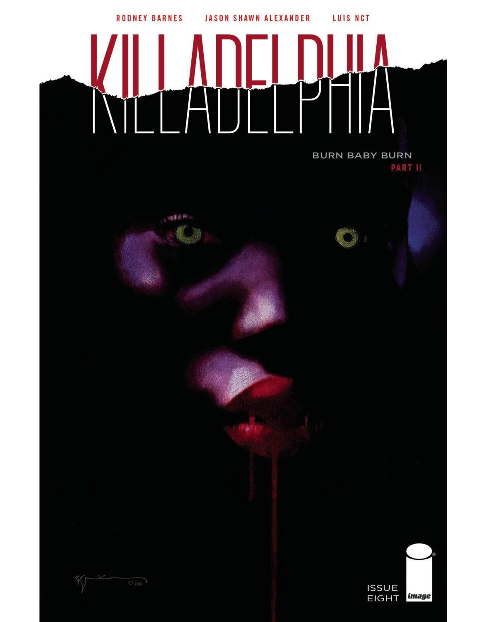 Image Comics KILLADELPHIA #8 CVR B SIENKIEWICZ (MR)